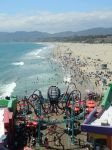 Santa Monica Pier, let's ride by charnelle-volcom9