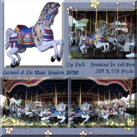 Carousel Zip Pack by WDWParksGal-Stock