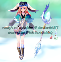 Adopt: Themed Bun Girl CLOSED by MzzAzn