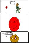 mag the Qwuedeviv: balloons  are  creepy 0-0 by xenomega101