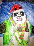 Christmas Panda by Africa2000