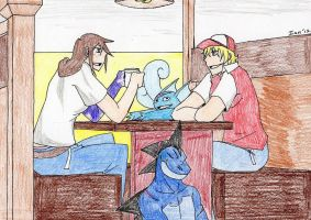 a meeting with Qlockwork by kiahl