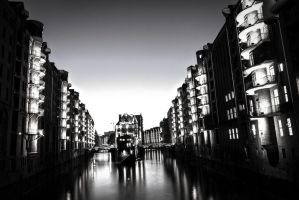 Hamburger Speicherstadt by Meduana