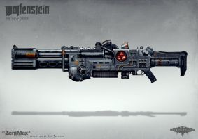Wolfenstein: The New Order - MG 60 by torvenius