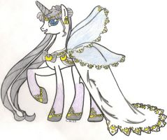 Queen Serenity Alicorn Pony by CooperGal24