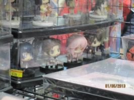 Guilty Crown Figurine thingys by SaikouPysho