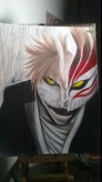 Hollow Ichigo by Acinorevivette
