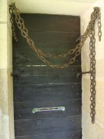 Door and chain by fairling-stock