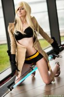 Sylvia Christel Figurine Pose - No More Heroes 2 by ByndoGehk