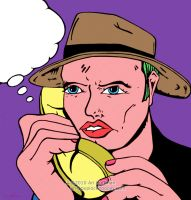 "Phone Call""No Answer"" Art Work by arihoff"