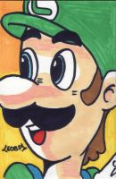 OMG LUIGI by eyesofburningpassion