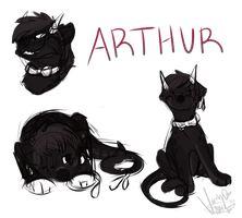 Arthur Sketch Page by 392228