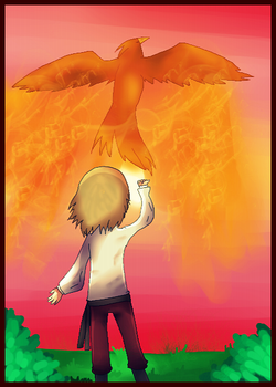 APH: Releasing The Phoenix by Field-Of-Roses