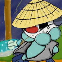 Samurai Oshawott 2 by dragonfire53511