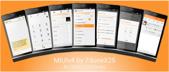 MIUIv4 for CM10 by ZduneX25