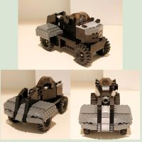 LEGO Half-Life 2 Combine APC by NeweRegion