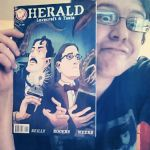 Herald #1 is out in stores! by mistermuck