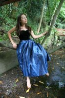 Blue dress 1 by 212Stock