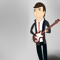 John Deacon by JourneytotheQueen