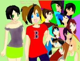 -Most Of- My OCs by NeonIcing