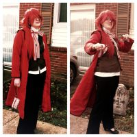 Grell Sutcliff, At Your Service by madelinewilliams1195