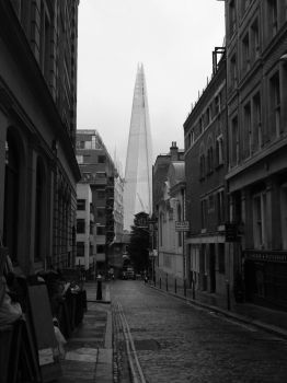 The shard.  From the city. by Princess-Amy