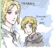 APH France X Jeanne D' Arc by pOcKyLoVeR09