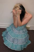 Blue Dress Stock 14 by KristabellaDC3