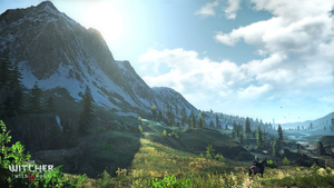 The Witcher 3 Skellige  is a beautiful place by Scratcherpen