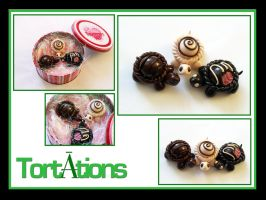 Chocolate Tiny Torts by Tortations