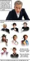 Doctor Who - The Doctor explains his 14 selves by DoctorWhoOne