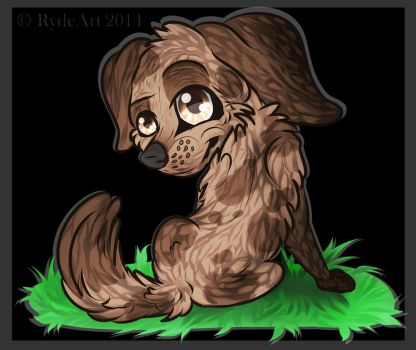 Chibi Pup by TanaeArt