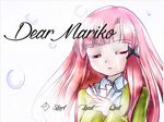 Dear Mariko Title Screen by CorenB