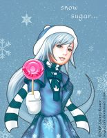 Sugar SnowFlake by ShadCarlos