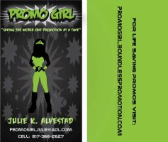 Promo Girl Business Card by divineattack