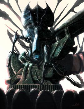 Alien: Visions piece by LivioRamondelli