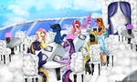 Paypal Commission - Cloudsdale Restaurant by NekoMellow