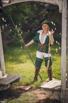 Free Spirit - Yunan by SilverShadeCosplay