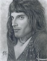 Freddie Mercury II by LatinPrincess17