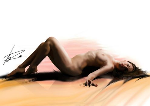 Nude Study by KyleArmstrong