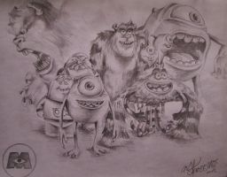 Monsters University by MissKerosene