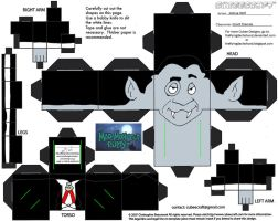 MMP2: Count Dracula Cubee by TheFlyingDachshund