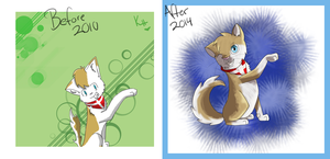 :Draw This Again: Denmark Neko by IronMeow