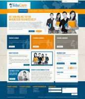 EduCare Web Design by dFEVER