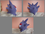 gengar Plushie 2 by Plush-Lore