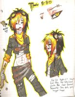 Monster M-80 by Lokymew