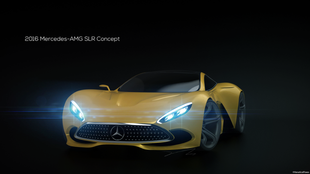 Mercedes-AMG SLR Concept by VanaticalFoxes