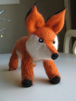 Felted Fox by mrskupe