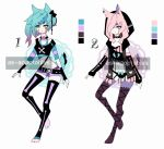 Pastel goth llama girl adoptables CLOSED by AS-Adoptables