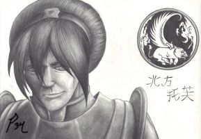 Chief Toph Bei Fong by Primogenitor34